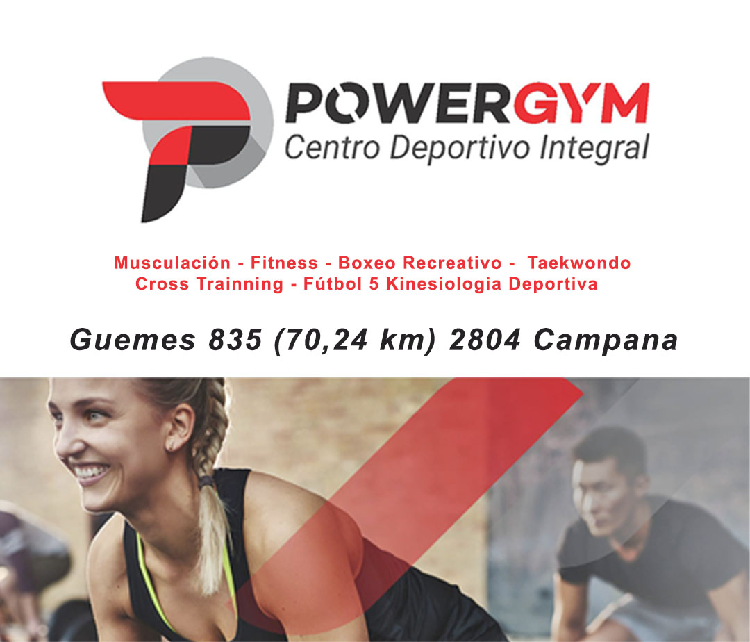 power gym campana 2020